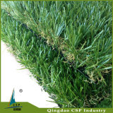 El césped artificial del jardín del paisaje de hierba artificial con Rock Bottom precio Csp004-1