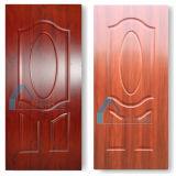 Neues Melamin-Furnier-Blatt geformte Tür-Haut des Entwurfs-MDF/HDF