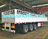 4 axles semi трейлер, трейлер контейнера насыпного груза