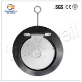 Qingdao Factory Price CF8m Thin Type Single Disc Válvula de retenção