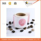 Venta al por mayor de papel adhesivo de impresión de la etiqueta engomada Impresión en rollos