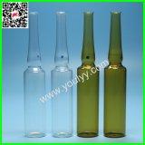 ampolla di vetro farmaceutica di 1ml 2ml 3ml 5ml 10ml 20ml