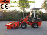 Made in China Everun Er06 Minicargadora con Sweeper