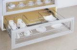 Quente-Vendendo o gabinete de cozinha da carcaça da melamina com preço do bom (zg-021)