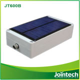 GPS GSM Tracker con Solar Panel Chargeable System Waterproof Function