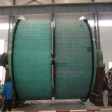 기계, 광산 호이스트를 게양하는 단 하나 밧줄 광산