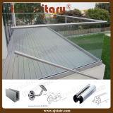 Het buiten Traliewerk van het Glas Frameless drijft het Kanaal van U van het Glas van het Aluminium (uit sj-H001)