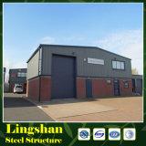 Estructura de acero del taller de acero industrial pesado
