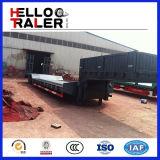 모형 세 배 차축 케냐에 있는 판매를 위한 낮은 로더 트레일러 60 톤