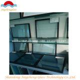 Vidrio de la pared del vidrio/cortina del material de construcción/vidrio de cristal/doble aislado plano y curvado 10 M