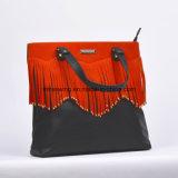 Una borsa alla moda delle 2017 del progettista del cuoio della nappa del sacchetto del Tote signore di sacchetto