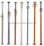 O aço ajustável sustenta o suporte de aço do suporte do andaime & o suporte Jack & telescópico ajustável do andaime