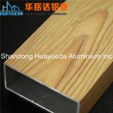 Profils en aluminium d'aluminium de profil/garde-robe d'extrusion de transfert en bois des graines