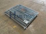 Складывая клетка хранения пакгауза ячеистой сети металла завальцовки стальная