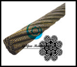 8X19 Iwrc Bright Wire Rope Eips (Rotation / spin résistant)