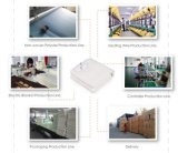 4 configuraciones del calor y manta eléctrica del poliester azul aprobado de los Ce-GS-CB-RoHS