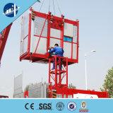 Einzelner Rahmen-materielle Hebevorrichtung für Aufbau-anhebenden Passagier und Material