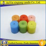 Weiße duftende Pfosten-Kerzen für Dekoration von der China-Fabrik