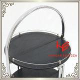 Mobilia dell'acciaio inossidabile del carrello del liquore del carrello del carrello del liquore (RS150501)