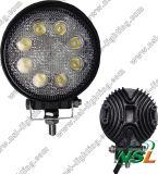 lumière pilotante 2040lm de l'éclairage LED DEL d'Epsitar de lumière d'inondation de C.C DEL de la lumière 10-30V de travail d'entraîneur de la qualité 12V 24V DEL de lumière de travail de 24W DEL
