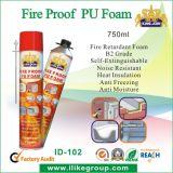 熱い販売の火証拠PUの泡