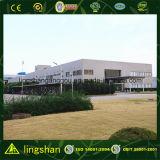 Magazzino prefabbricato della struttura d'acciaio con l'ufficio (LS-SS-556)