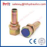 Varón métrico de 18611 Jic instalación de tuberías hidráulica del asiento del cono de 60 grados de la guarnición de manguito hidráulica de China