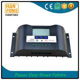 регулятор 20A 12V/24V солнечный с индикацией LCD