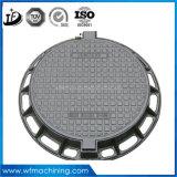 En124 D400 800mm Sand-Gussteil-Fertigung-duktiler Eisen-Einsteigeloch-Deckel/Einsteigeloch-Deckel