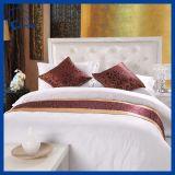 Полные величины хлопка упрощают белые оптовые установленные постельные принадлежности гостиницы (QHSD998778)