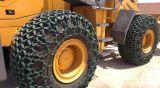 販売のためのフォークリフトの車輪のローダーのタイヤの保護鎖