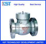 O aço de molde de alta pressão do ANSI flangeou válvula de verificação do balanço