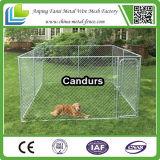 Cage bon marché extérieure de crabot de frontière de sécurité de grand de chaîne cadre en gros de maillon