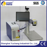 Stationäre Metallkarten-Laser-Markierungs-Maschine