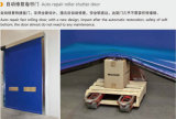 Porte rapide industrielle rapide de roulement de PVC de Revoverable de bâti en aluminium