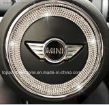 Etiqueta engomada de epoxy cristalina de cristal adhesiva del diamante de las etiquetas engomadas de la insignia cristalina del coche (TS-552)