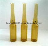 ampola 20ml de vidro ambarina