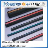 Tuyau hydraulique SAE 100 R1at de fil de tuyau en caoutchouc simple de tresse