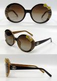 Gafas de sol plásticas de la manera del diseñador a estrenar para las mujeres/señora (DP1215YZ)