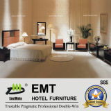 Stern-Hotel-Möbel König-Bett eingestellt (EMT-A0654)