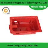 精密赤い陽極酸化されたアルミニウム電気機構の箱