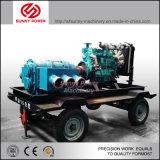 De Hoge druk van de Pomp van het water met Movalbe Aanhangwagen 84kw