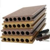 Madera de construcción compuesta plástica de madera para el suelo y la cerca al aire libre