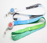 결박, Polyester Ribbion Heat Transfer 또는 Printed Custom Lanyard