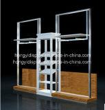 armadietto di esposizione di modo per la vendita al dettaglio delle signore, unità di parete