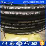 Tubo flessibile di gomma della rondella ad alta pressione utilizzato lavaggio dell'automobile (3000psi/4000psi/5000psi)