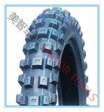 Querfeldeinschritt-Muster-pneumatischer Gummimotorrad-Reifen