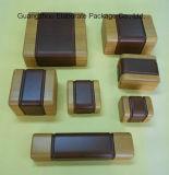 Kundenspezifischer natürlicher hölzerner einzelner Uhr-Kasten