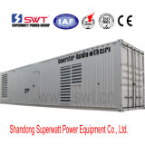 660kVA-2500kVA 20 oder 40 Fuß Containerized Dieselgenerator-Set durch Perkins