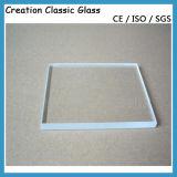 vetro solare Tempered del ferro basso ultra chiaro di 3.2mm 4mm